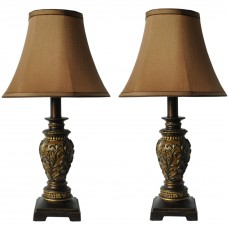 19'' Height Poly Accent Lamp- Dorm Room Lamp - Lamps for Living