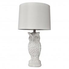 Owl Ceramic Table Lamp for Living Room, Bedroom