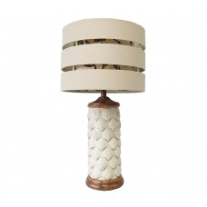 Antique White Shells Table Lamp