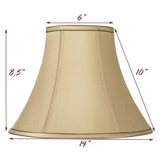 Round Bell Fabric Taupe Shade