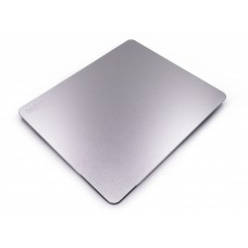 Dual Sided Gaming Aluminum Mouse Pad (Silvery)
